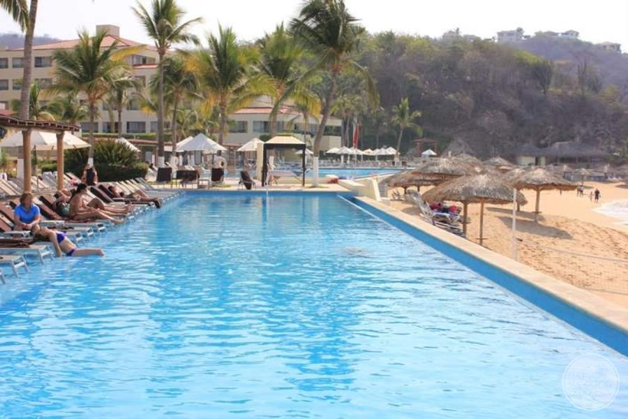 Dreams Huatulco Beach Pool South View