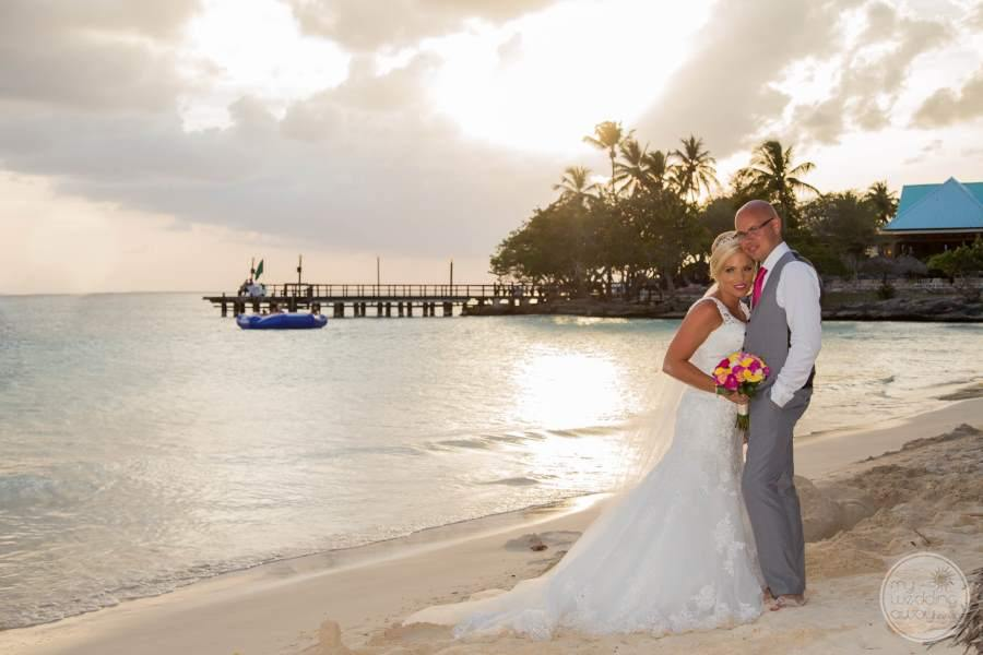 Dreams La Romana Beach Bride and Groom