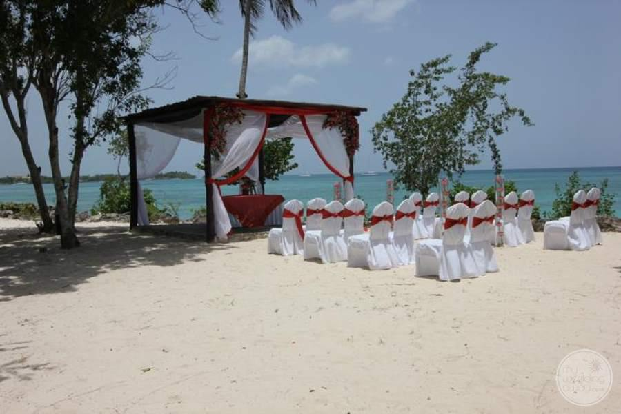 Dreams La Romana Beach Wedding Gazebo