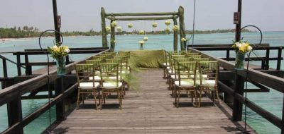 Dreams La Romana Gazebo on Pier