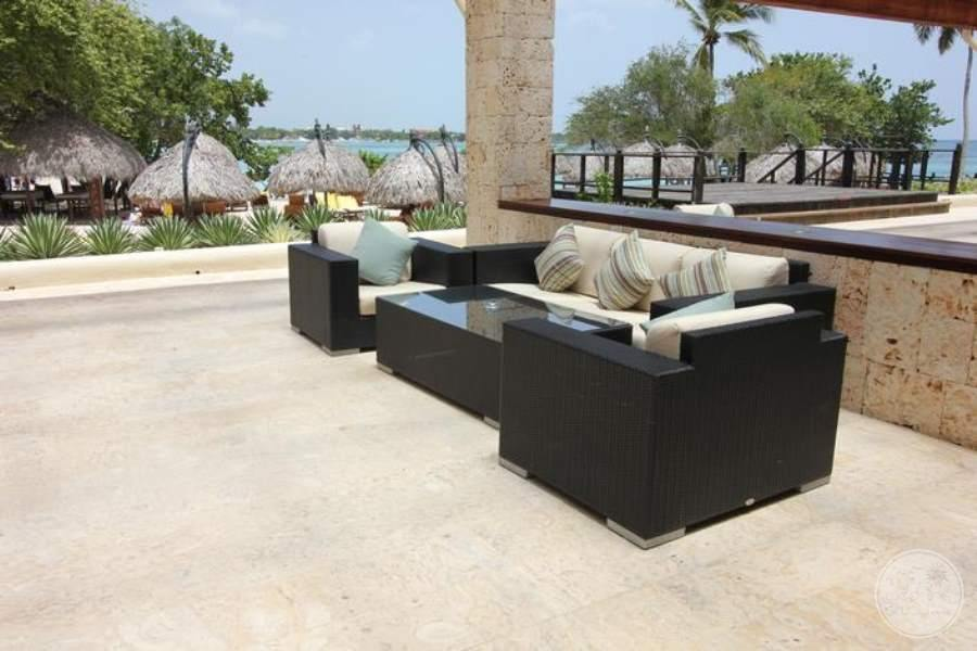 Dreams La Romana Outdor Lounge Area
