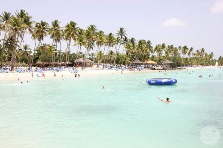 Dreams La Romana View of Beach