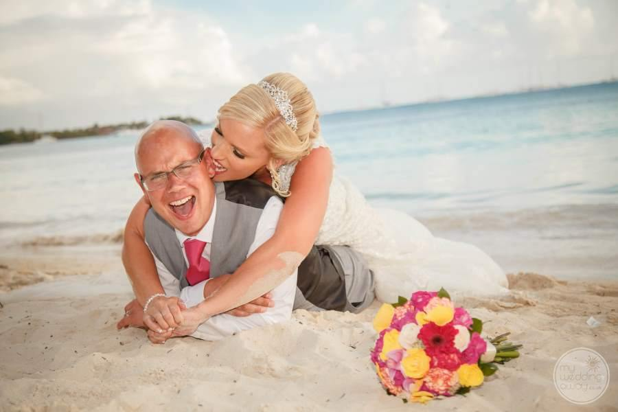 Dreams La Romana Wedding Couple