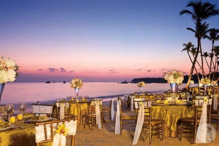 Dreams Palm Beach Wedding Reception