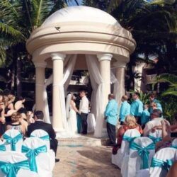 Dreams Palm Beach Wedding Gazebo