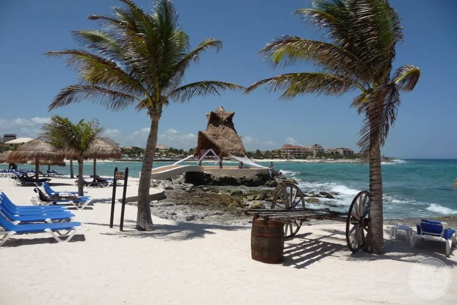Dreams Puerto Aventuras Beach and Gazebo