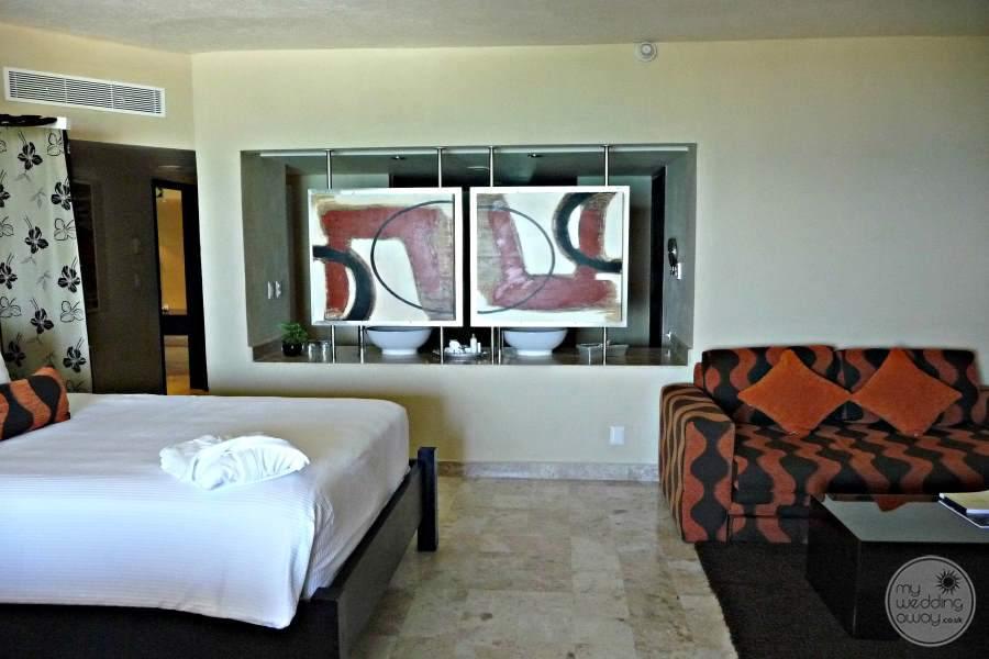 Dreams Puerto Aventuras Room and Seating Area