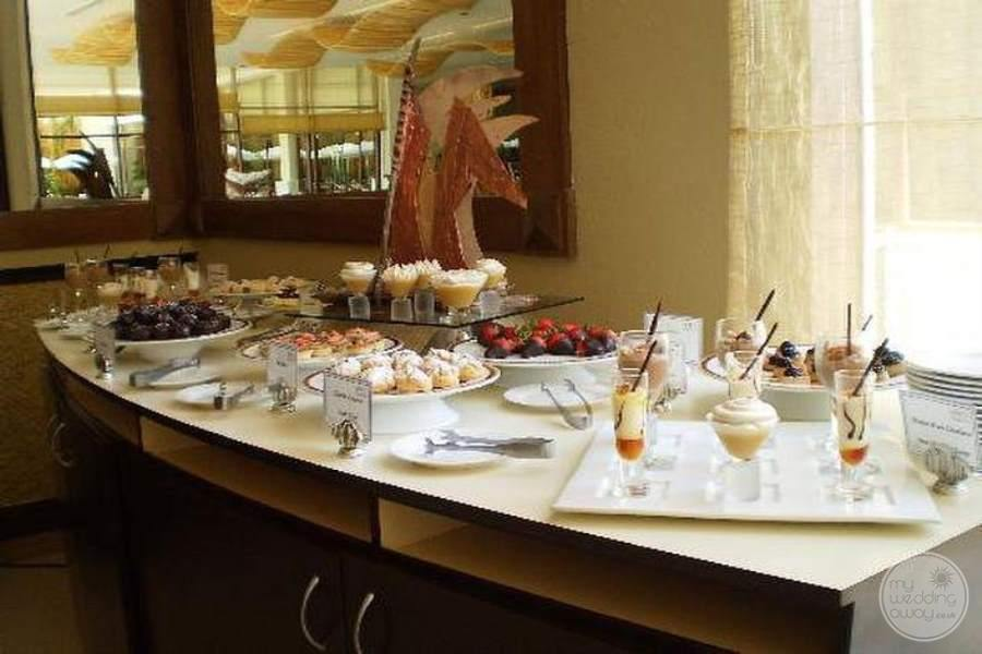 Dreams Riviera Cancun Dessert Bar