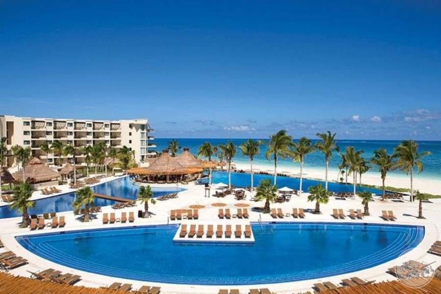 Dreams Riviera Cancun Pool Overview
