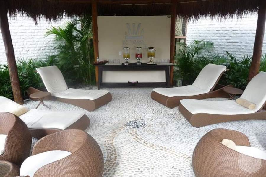 Dreams Riviera Cancun Spa Chairs