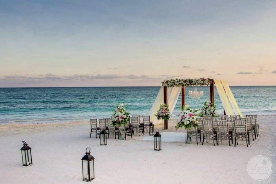 Dreams Tulum Beach Ceremony