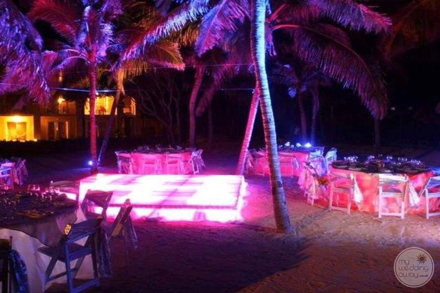 Dreams Tulum Beach Reception Dance Floor