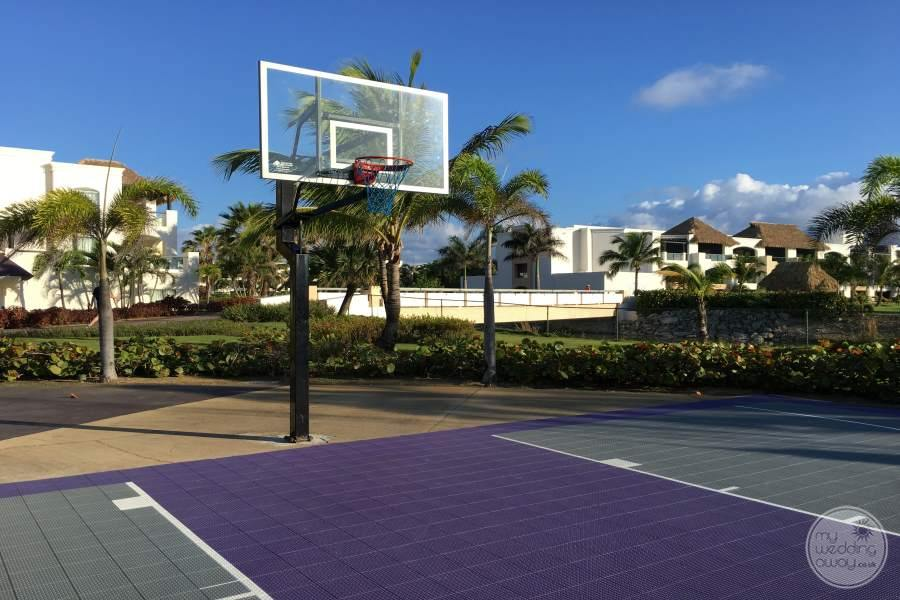 Hard Rock Punta Cana Basketball Court