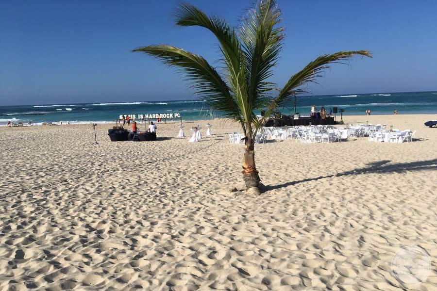 Hard Rock Hotel Punta Cana Beach Wedding
