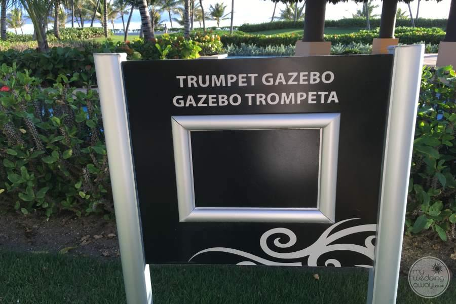 Hard Rock Hotel Punta Cana Gazebo Sign