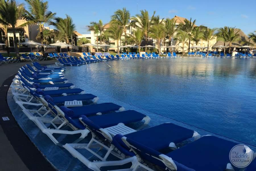 Hard Rock Punta Cana Pool Loungers