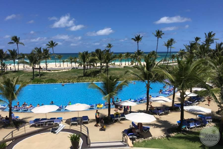 Hard Rock Punta Cana View of Pool Area