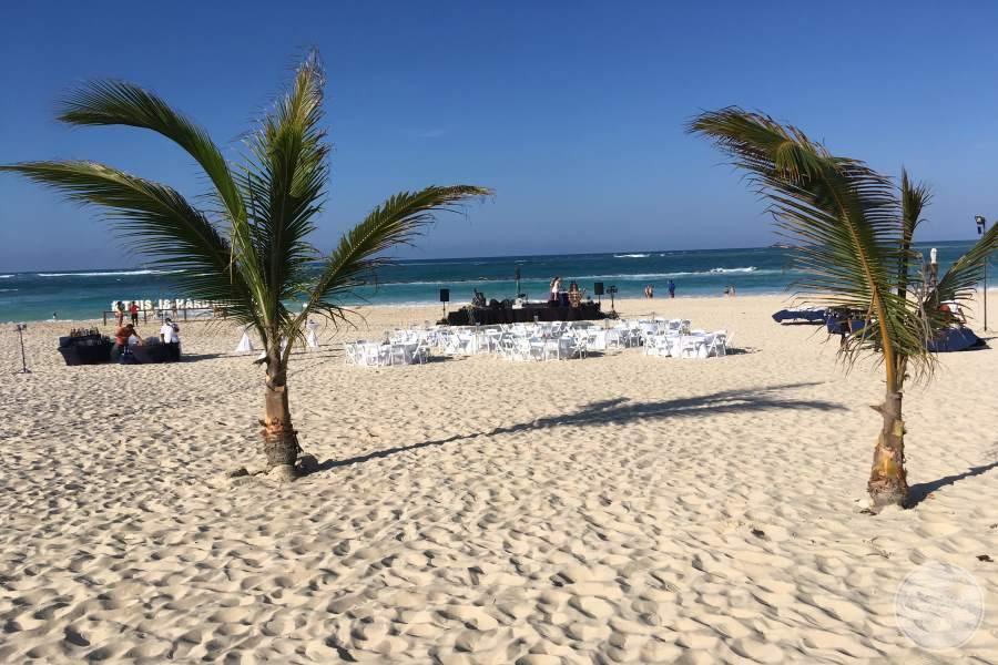 Hard Rock Punta Cana Wedding Set-up
