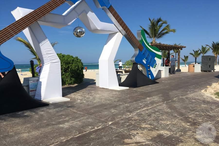 Hard Rock Punta Cana to Beach