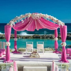 Hard Rock Riviera Maya Beach Wedding Gazebo