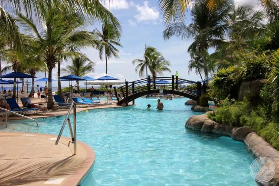Hilton Barbados Main Pool View