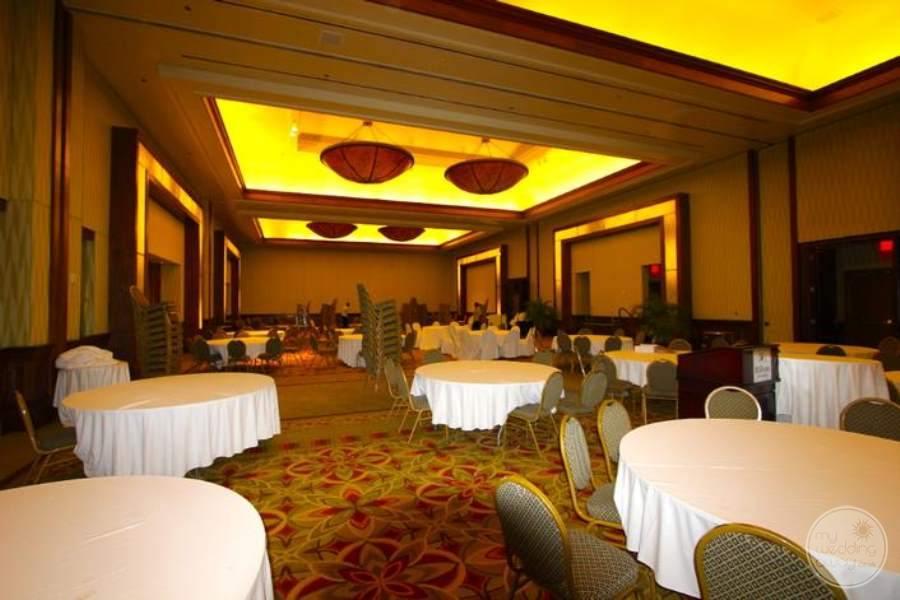 Hilton Barbados Wedding Reception Room