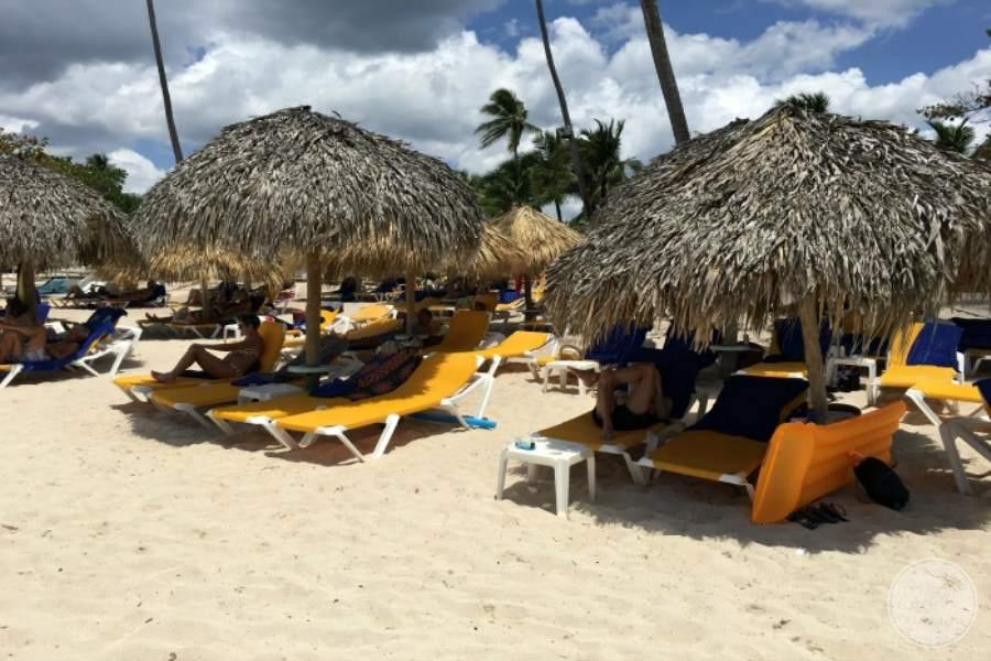Iberostar Hacienda Dominicus Beach Lounge Chairs