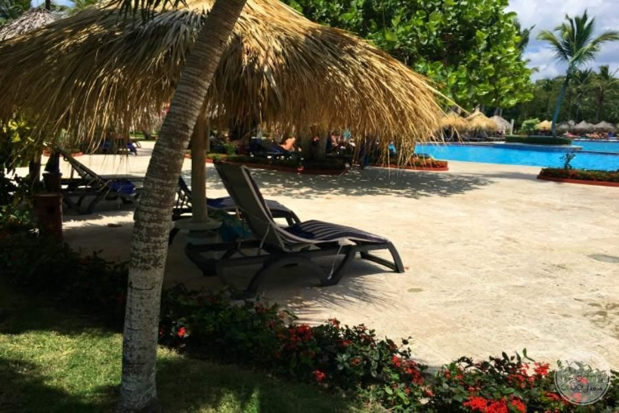 Iberostar Hacienda Dominicus Covered Lounge Chairs