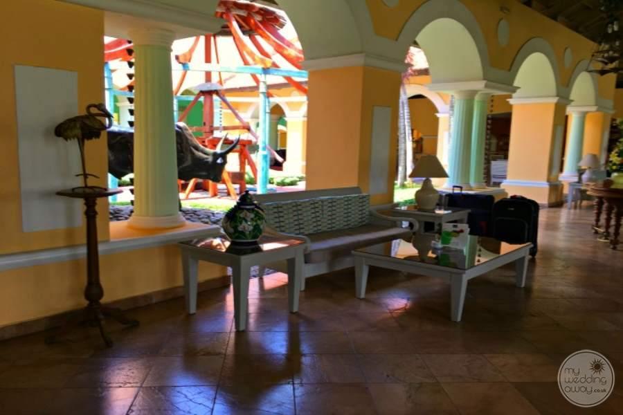 Iberostar Hacienda Dominicus Lounge Area