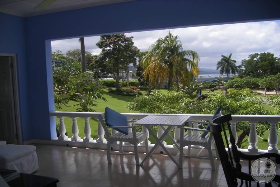 Jamaica Inn Private Balcony