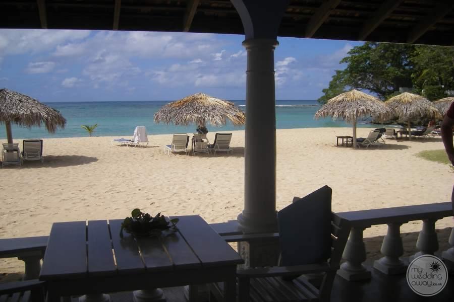 Jamaica Inn View to Beach