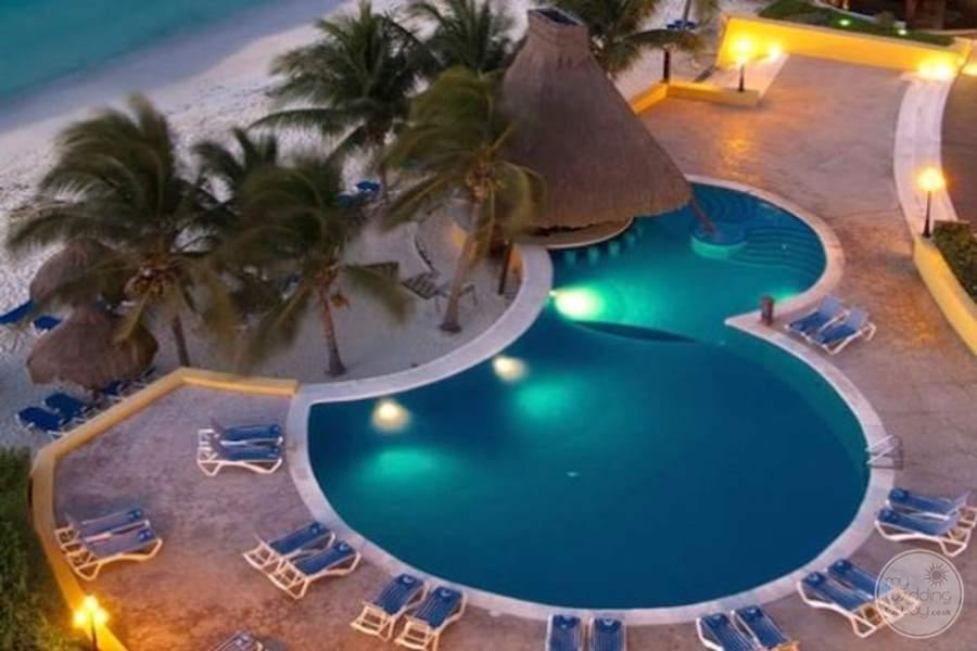 Melia Cozumel Pool View