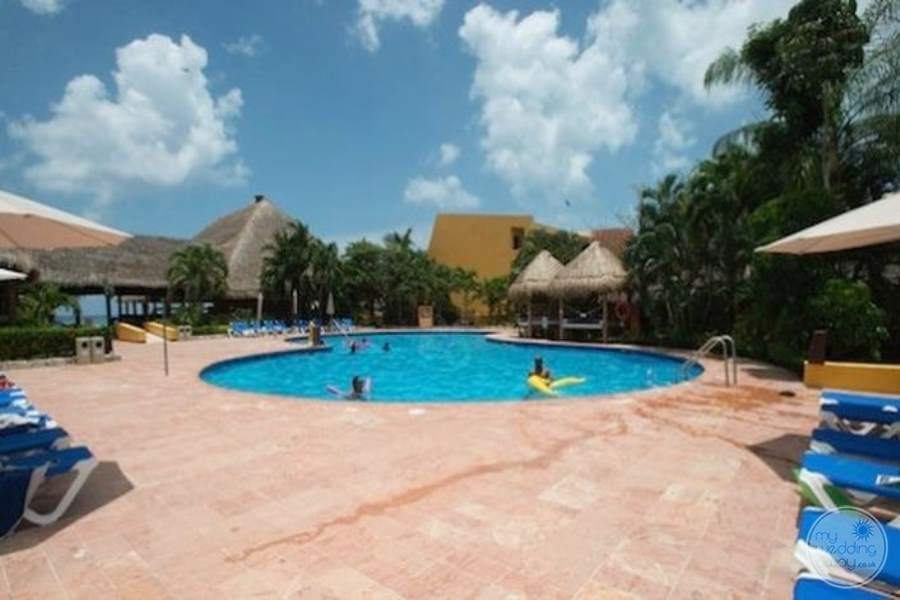Melia Cozumel Terrace Pool