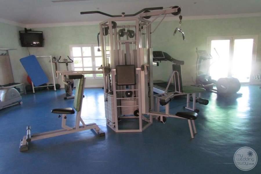Melia Peninsula Varadero Fitness Area