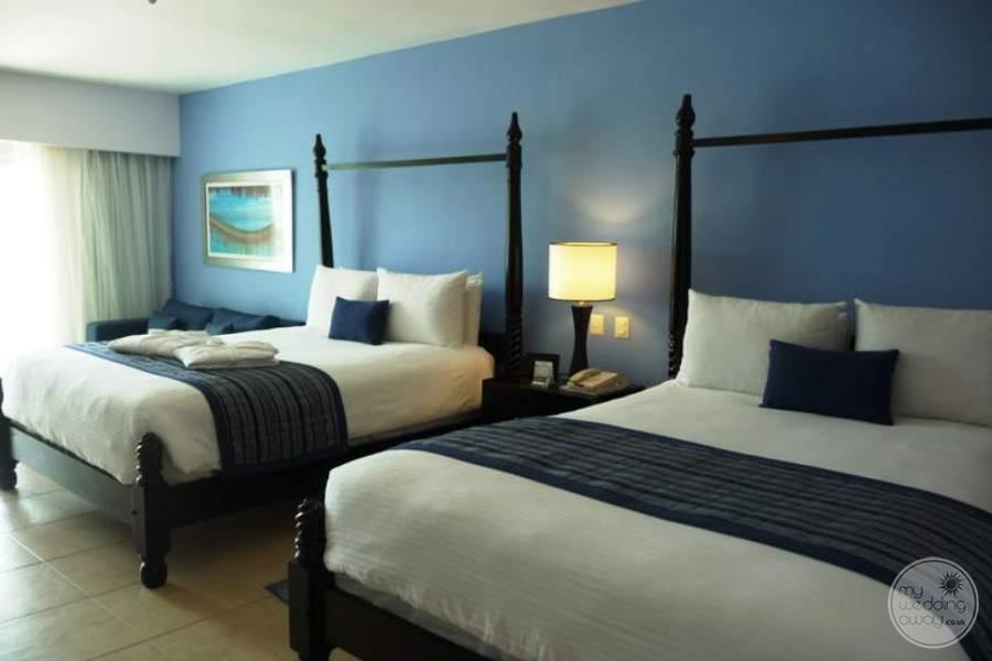 Ocean Blue and Sand Twin Beds
