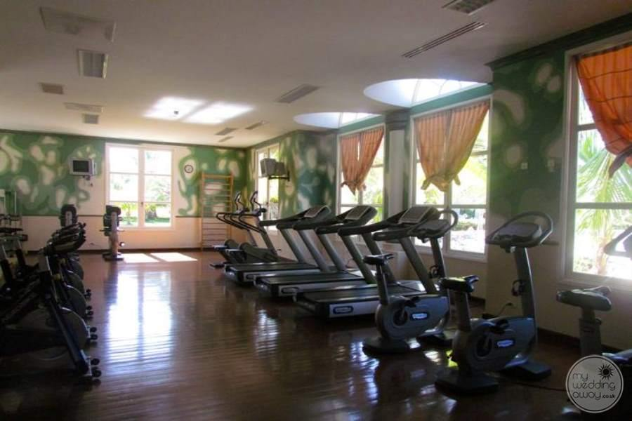 Paradisus Princesa Del Mar Fitness Area