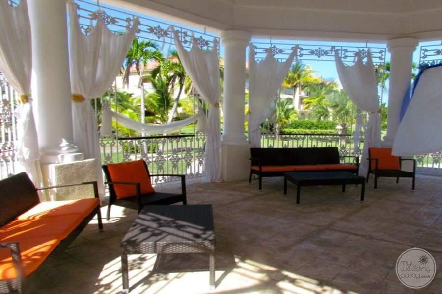 Paradisus Princesa Del Mar Inside Gazebo