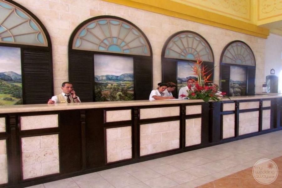 Paradisus Princesa Del Mar Reception Checkin