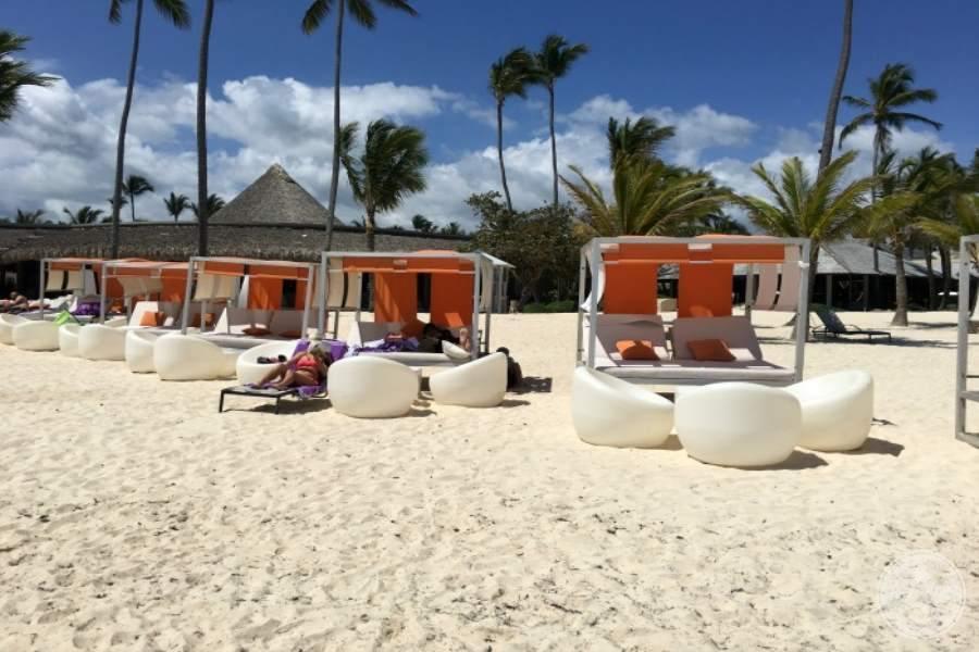 Paradisus Punta Cana Beach Beds