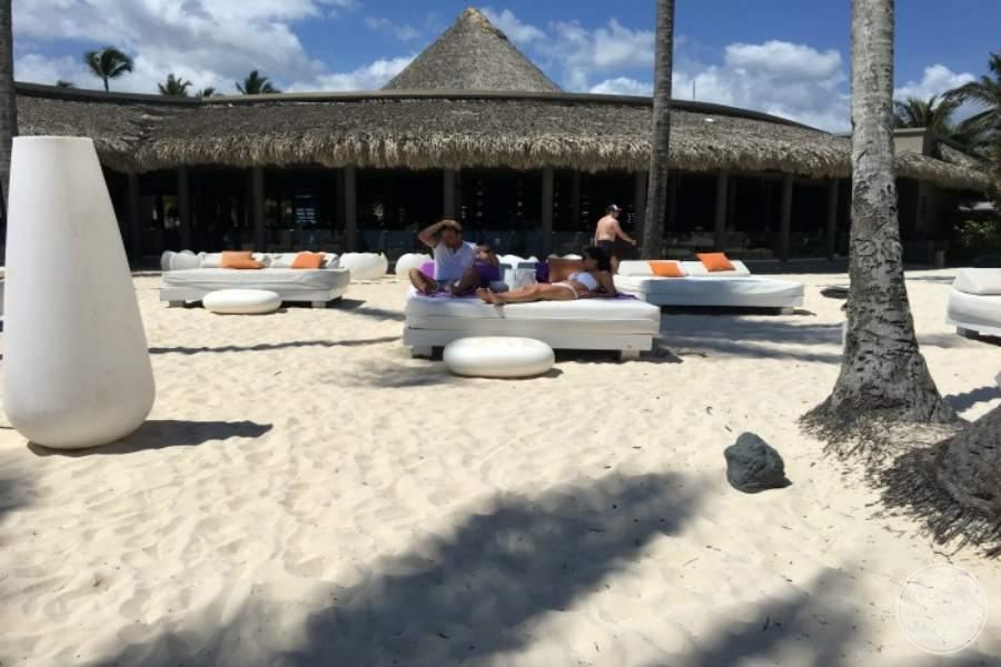 Paradisus Punta Cana Beach Lounging
