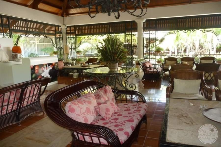 Paradisus Punta Cana Lounging Area
