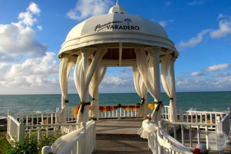 Paradisus Varadero Wedding Gazebo