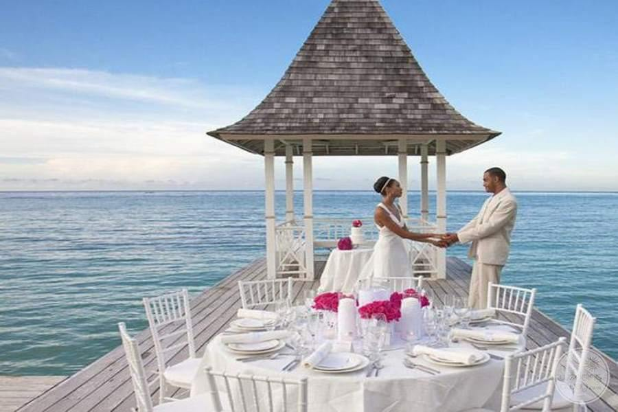 Sandals Royal Plantation Beachfront Wedding Gazebo