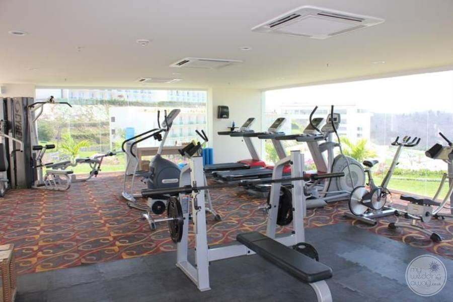 Secrets Huatulco Fitness Room