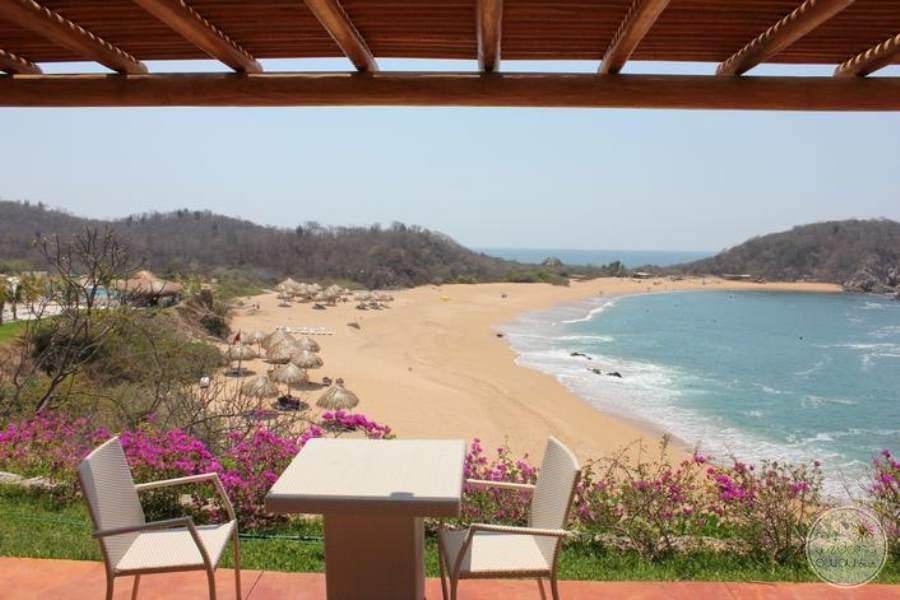 Secrets Huatulco Outdoor Dining