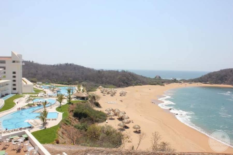 Secrets Huatulco Spa View
