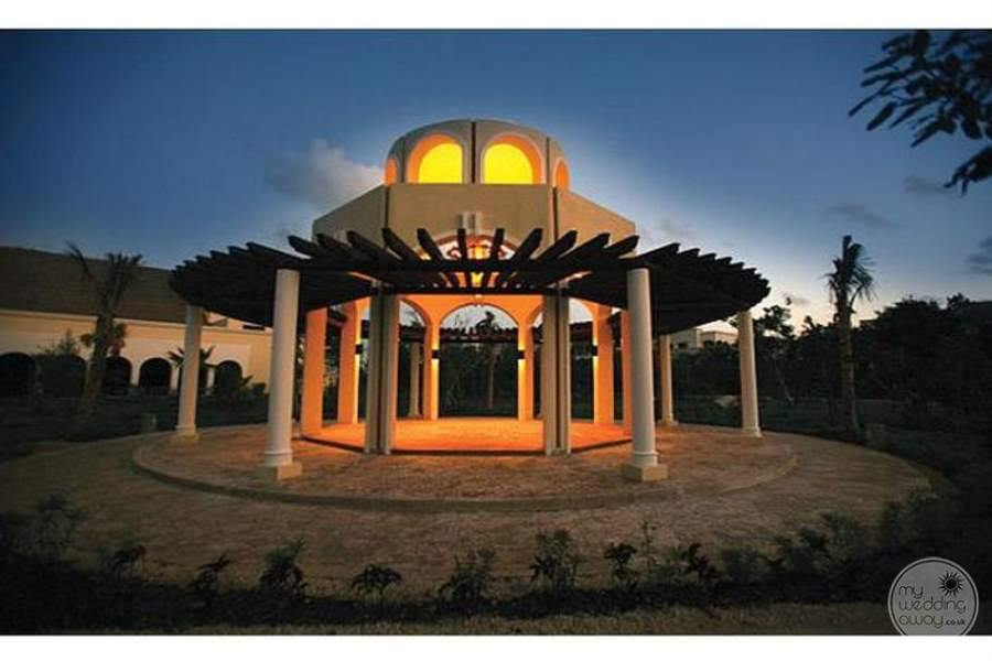 Valentine Imperial Maya Gazebo at Night