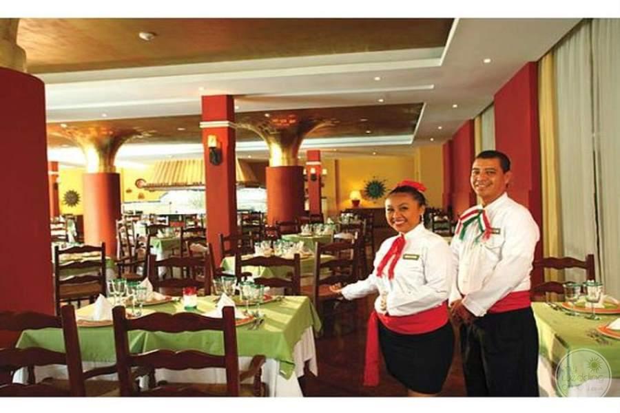 Valentine Imperial Maya Restaurant Servers