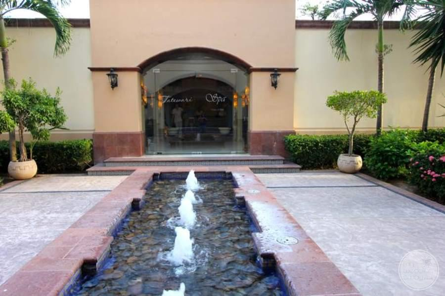 Villa del Palmar Flamingos Spa Entrance