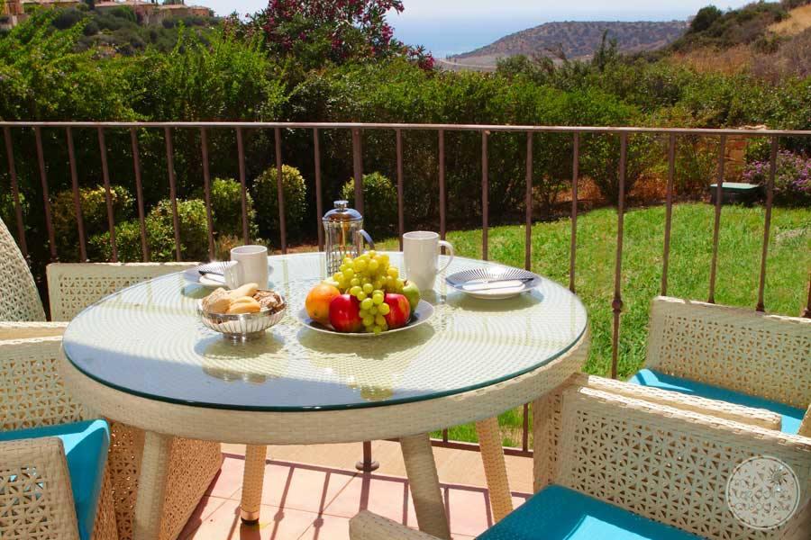 Aphrodite Hills Terrace View